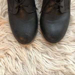 Steve Madden Shoes - Steve Madden Gretchun Boot in Black Leather